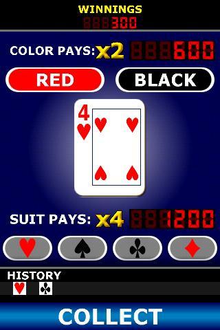 Pick A Pair Poker - screenshot