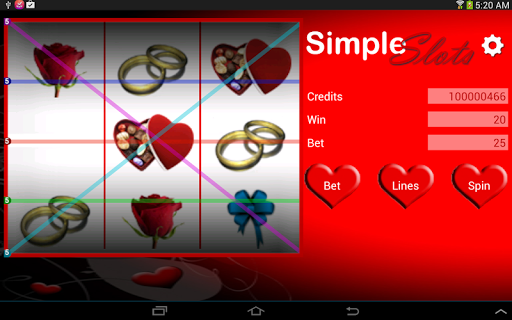 Simple Slots - screenshot