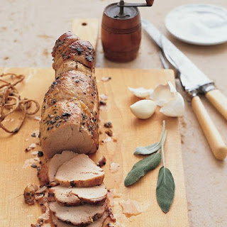 Sage- and Garlic-Crusted Pork Tenderloin