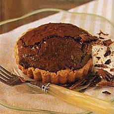 Chocolate-Whiskey Soufflé Tarts