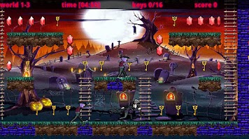 Screenshot of Halloween Temple'n Zombies Run