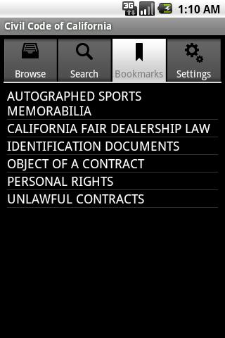 California Civil Code