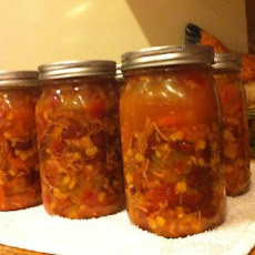 Chicken Mexican Soup ( for Canning )