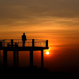 Hope by Manish Kumar - Landscapes Sunsets & Sunrises ( offroad, sunset, viewpoint, hope, Hope )