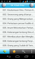 Screenshot of Sahih Bukhari Indonesian Free