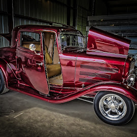 Slick Ride by Ron Meyers - Transportation Automobiles