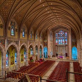 Holy Spirit Parish by Alan Roseman - Buildings & Architecture Places of Worship ( religion, holy spirit parish, catholicism, church, rhode island, central falls, worship )