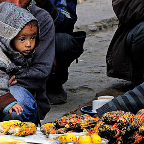 Winter Warmth by Pinaki Pradhan - People Street & Candids