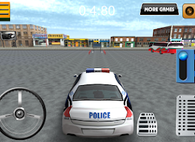 Screenshot of Parking 3D - Police Edition