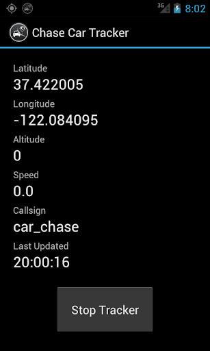 HabHub Chase Car Tracker