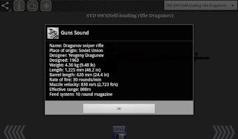 Screenshot of Guns Sound