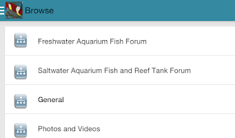 Screenshot of Fish Lore Aquarium Forum