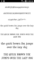 Screenshot of Fonts for FlipFont 50 #10