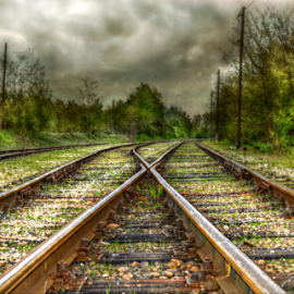 Splitting by Manuela Dedić - Transportation Railway Tracks (  )