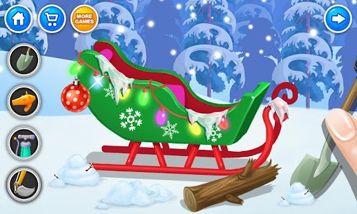 Christmas Santa's Sleigh Salon - screenshot