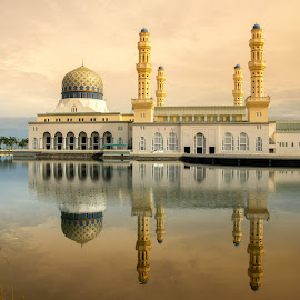 masjid likas by Je Jai - Buildings & Architecture Other Exteriors