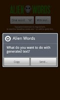 Screenshot of Alien Words