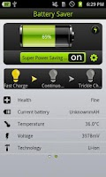 Screenshot of One Touch Battery Saver