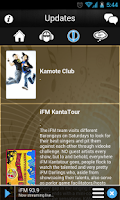 Screenshot of iFM 93.9