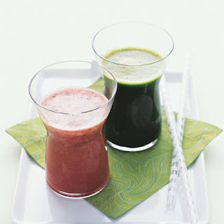 Pineapple-Blueberry-Ginger Juice