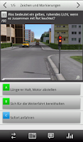 Screenshot of e.driver 2015 Theorieprüfung