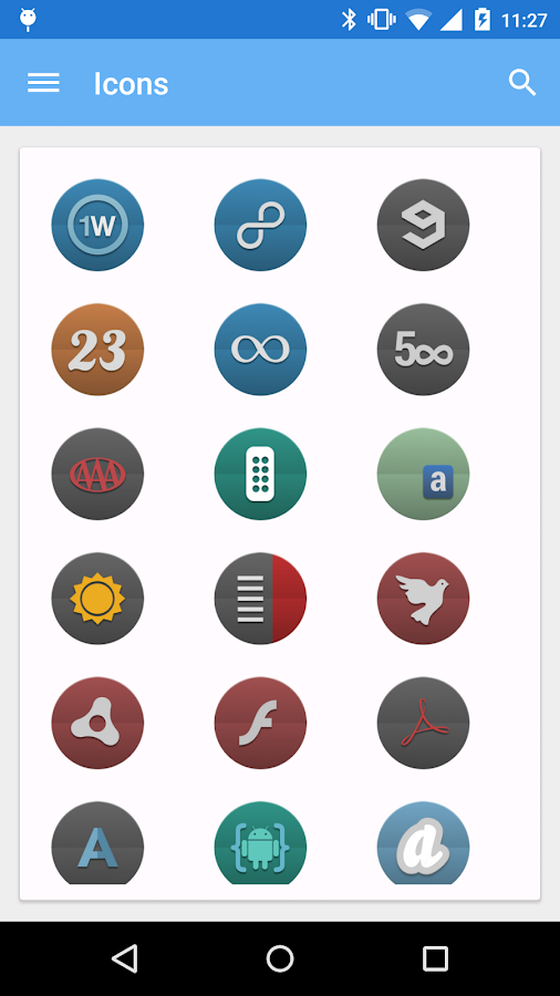Ponoco - Icon Pack Screenshot 1