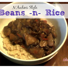 New Orleans Style Beans and Rice