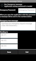 Screenshot of Security SMS Remote PRO