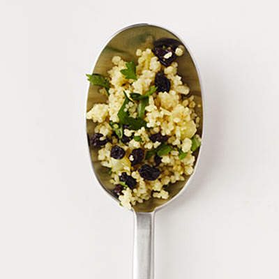 Curried Currant Couscous Pilaf