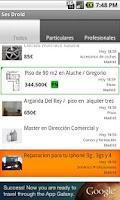 Screenshot of Ses Droid