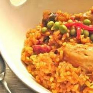 Arroz con pollo (Cuban chicken and rice)