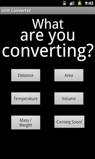Easy Unit Converter