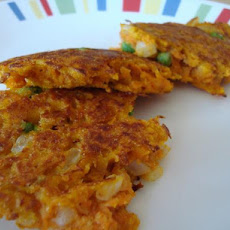 Curried Sweet Potato Fritters