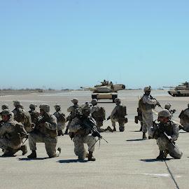 Perimeter by Jesse Thrush - News & Events US Events ( miramar, marines, usmc, tank, war,  )