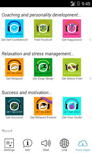 Get Self-Confidence! Hypnosis - screenshot
