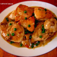 Pollo En Salsa De Almendra ( Chicken in Almond Sauce)