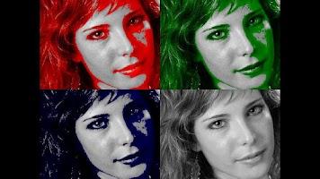 Screenshot of Warhol Camera