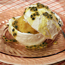 Passion Fruit Pavlova