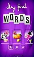 Screenshot of First Kids Words
