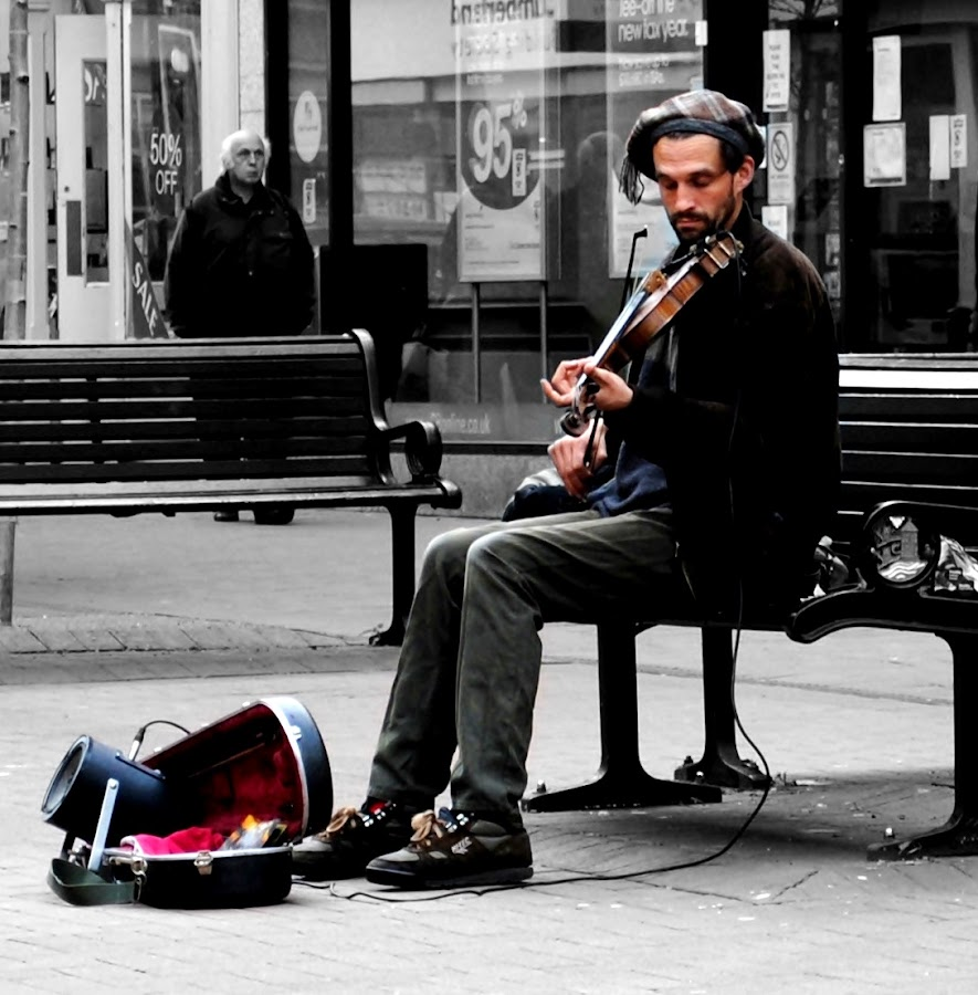 Lost in the music by Terry Gower - People Musicians & Entertainers