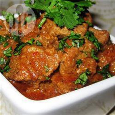 Vindaloo - Indiase curry met rundvlees