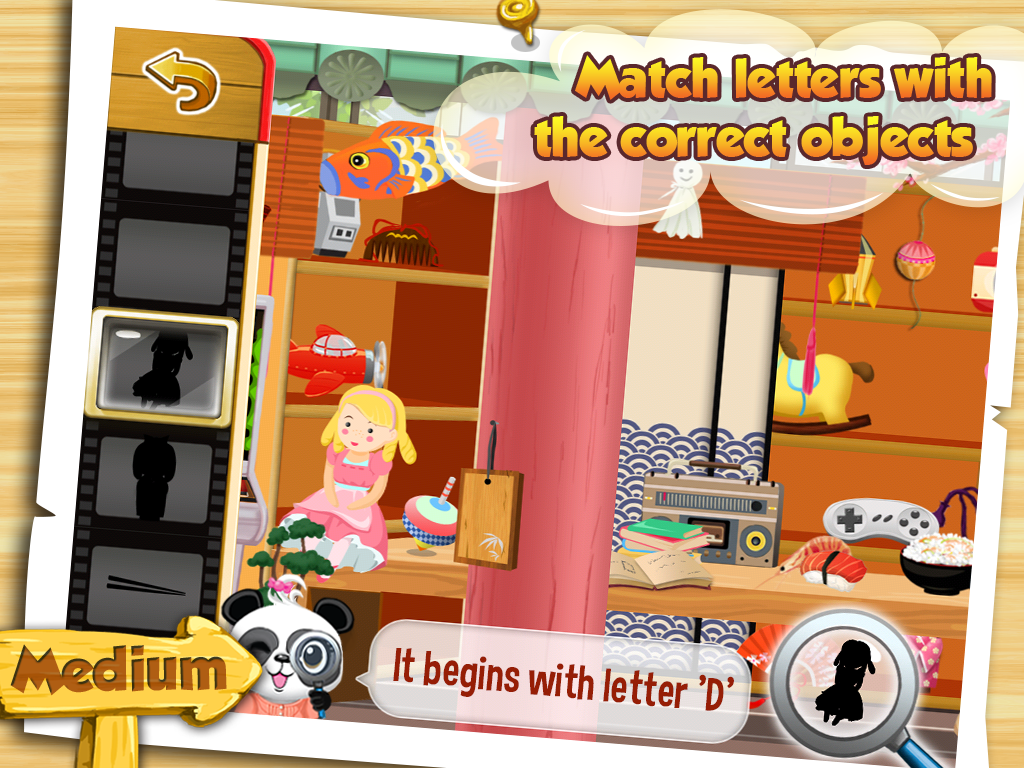 I Spy With Lola: Fun Word Game Screenshot 2