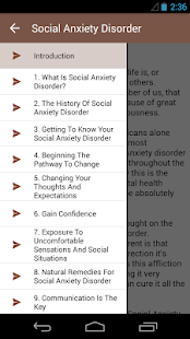 Social Anxiety Disorder - screenshot