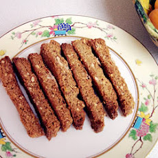 Ginger Biscotti with Pistachios