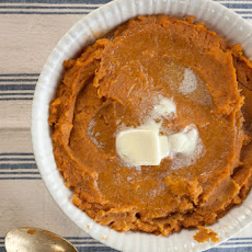 Maple Butter Mashed Sweet Potatoes