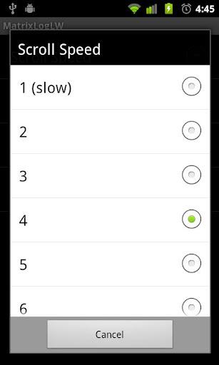 【免費個人化App】Matrix Log Live Wallpaper-APP點子