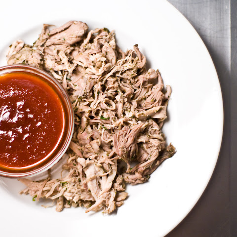 Green Tea Pulled Pork