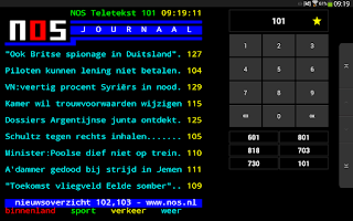 Screenshot of NOS Teletekst