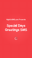Screenshot of Special Days Greetings SMS