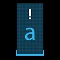 Squared Cyan HD Keyboard Theme icon